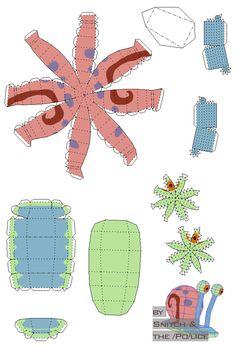 papercraft . modelos en papel (Nivel 1) actualizado