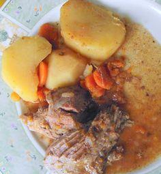 A View at Five-Two: Freezer to Crock Pot - Pot Roast with Veggies