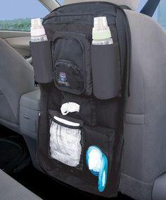 This would be great for our disney trip! Look at this #zulilyfind! Baby Essentials Car Organizer #zulilyfinds