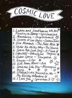 Cosmic Love playlist | ROOKIE magazine