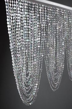 Crystal Swag Valance with 66 Garlands (35in) $19