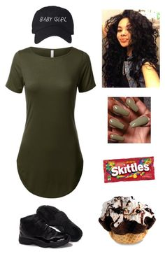 """woosah ."" by qveenkyndall16 ❤ liked on Polyvore featuring Retrò"