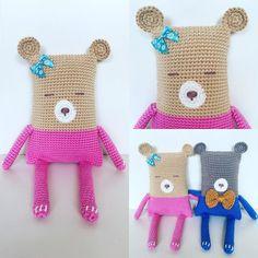 Mss Bear #crochet #haken #amigurumi #haakverslaafd #crochetaddict #craft #selfmade #hobby #instacrochet #instacrocheters #bear # #crochetbear #crochetlove