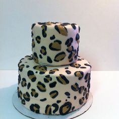 birthday party? Leopard Print Cake!