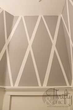 How to get a crisp line everytime where the ceiling and wall meet. Best trick ever! (caulk line)
