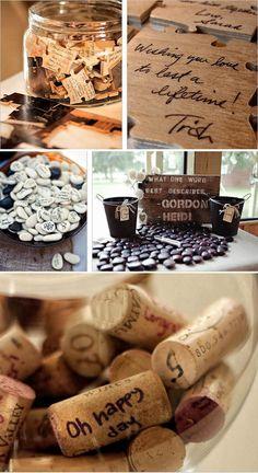 Inspiratie voor een creatief gastenboek : Weddingplanner.nl