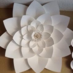 Paper lotus flowers on etsy i want to try and figure out how to x large paper lotus flower custom color by creativeleepapers mightylinksfo Gallery
