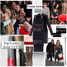 """""""Front Row NYFW Fall 2015 Top Looks"""" by stylepersonal on Polyvore"""