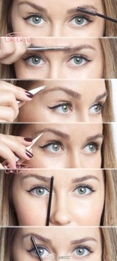 eyes HOW TO GET THE PERFECT BROW!
