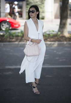 Spring guide to wearing all white