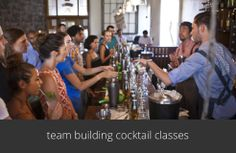 cocktail classes for team building