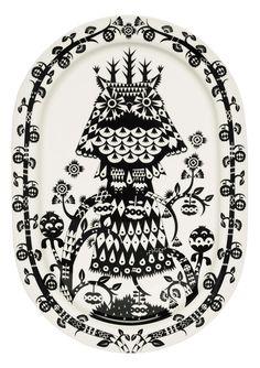 iittala Taika Black Servis Tabağı-41 cm - Satın Al