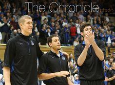 Duke seniors! Mason Plumlee, Seth Curry, and Ryan Kelly.,, gonna miss these boys:(