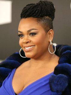 shaved hair with braids for black women | Jill Scott Inspired Hairstyle