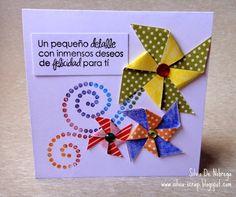 Silvia Scrap: Tarjeta con el Sketch # 34 de Latina crafter