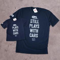 These shirts get comments everywherethey go – guaranteed to be a hit at your next car show. Adult shirts (and youth sizes small -large) are a premium quality