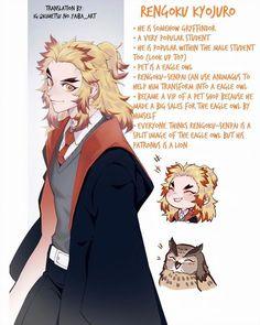 Kimetsu No Yaiba {Comics & Doujinshi's} |PT 5| ~English~ - {Hogwarts} - Wattpad Fandom Crossover, Anime Crossover, Anime Angel, Anime Demon, Fanarts Anime, Anime Characters, Hee Man, Oc Manga, Manga Anime