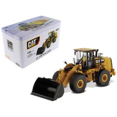CAT Caterpillar 950M Wheel Loader with Operator High Line Series 1-50 Diecast Model by Diecast Masters