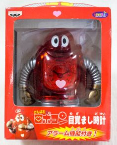 Ganbare!! Robocon Clear Red ver. Alarm Clock Figure Banpresto JAPAN ANIME MANGA