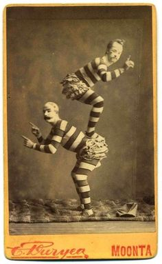 Australian Acrobats - c. 1900