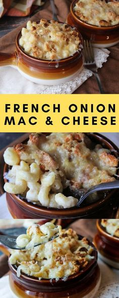 French Onion Macaroni and Cheese Recipe #macandcheese