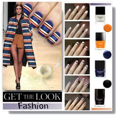 Get The Look by sharoncrotty on Polyvore featuring beauty, Butter London, Nails Inc., Uslu Airlines and RGB