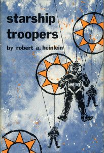 Starship Troopers (novel) Starship Troopers is a military science fiction novel by U.S. writer Robert A. Heinlein. Written in a few weeks in reaction to the U.S. suspending nuclear tests,[4] the story was first published as a two-part serial in The Magazine of Fantasy & Science Fiction as Starship Soldier, and published as a book by G. P. Putnam's Sons in December 1959.