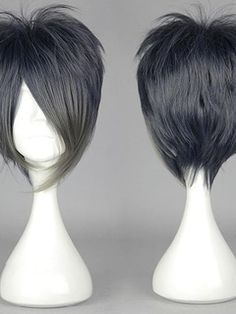 New Arrival Short Straight Mixed Color Cosplay Wig Original Price: $193.00 Latest Price: $28.69