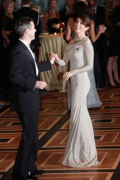 Crown Prince Frederik and Crown a Princess Mary
