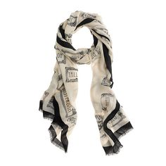 JCREW - What girl doesn't love a cute scarf?!