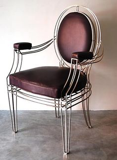 """CASA MIDY, Opera, 23.5""""Wx22""""Dx39H [2 of these chairs in Bronze finish]"""