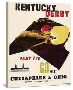 vintage Kentucky Derby
