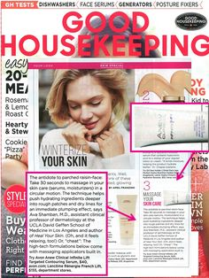 @goodhousemag featured our ANEW Clinical Infinite Lift Targeted Contouring Serum as a winter wonder for your skin.