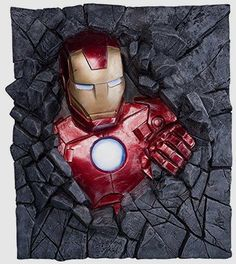 Iron Man Wall Breaker Statue        Deal of the day >>>  http://amzn.to/2bKifHT