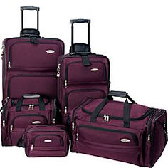 8c48c57f7b04 Buy the Samsonite Travel Set at eBags - experts in bags and accessories  since Keep everyone s travel essentials together and well-organized.