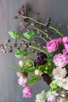 Floristry workshop at the Sabine Darrall Floristry School | Flowerona