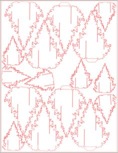 2012 Christmas Card Pattern & Tutorial – Bird in a Bowler 3d Cards, Pop Up Cards, Xmas Cards, Sliceform, Pop Up Karten, Origami, Rena, Diy And Crafts, Paper Crafts