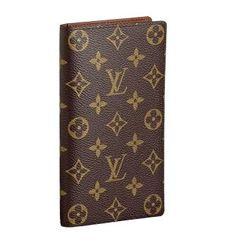 Louis Vuitton M62 Monogram Canvas European Checkbook Card $125.00 Save: 58% off