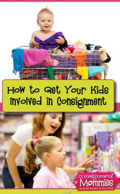 Getting Your Kids Involved in the Consignment Sale Process #consignmentsales #kidsConsignment