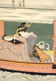 """Eight hsuehchien"""" """"Seiran"""" first generation Utagawa"""