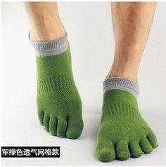 Wiggle Socks 2015 summer New Mens Socks Cotton Meias Sports Five Finger Socks Casual Toe Socks Breathable Calcetines Ankle Socks 39-45
