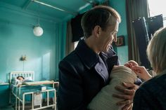 Here is a NEW BTS Still of Tobias Menzies as Frank Randall SOURCE