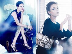 Christian Dior - Spring 2012 Ad Campaign -  Model: Mila Kunis  -  Photographer: Mikael Jansson