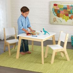 Modern Table and Chair Set