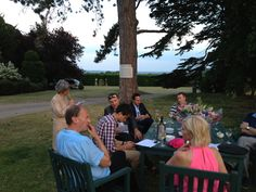 Aggers Dinner Party with cricketers Phil Tufnell, Michael Vaughn, Adam Mountford, Glenn McGrath, Jim Maxwell