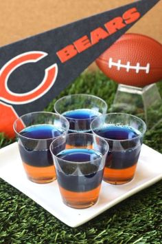 Best Chicago Bears Jell-O Shots Recipe-How to Make Chicago Bears Jell-O Shots-Delish.com