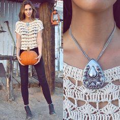 Crochet Top. http://oneofeachblog.com/wp-content/uploads/2oneofeach10-22.jpg