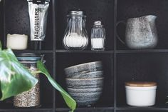 Kitchen styling with Sostrene Grene ceramics by stonemuse.dk #grenehome