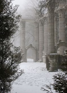 Love this eerie and mystical place...