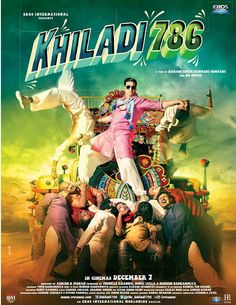 KHILADI 786 (2012) DVD RIP 700 MB : Download Latest Movies For Free